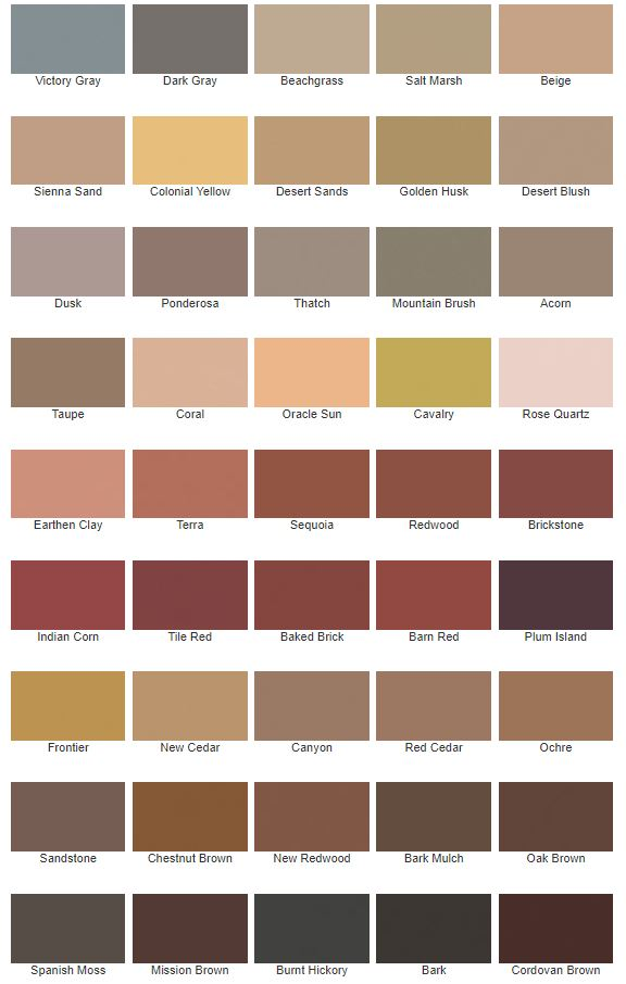 Solid Acrylic Siding Stain Shilpark Paint